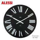 ALESSI ( アレッシィ ) Firenze ( フィレンツェ ) 掛け時計 / ブラック.