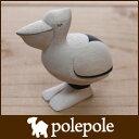 polepole ( ぽれぽれ ) 木製 雑貨 ぽれぽれ動物 ペリカン.