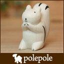 polepole ( ぽれぽれ ) 木製 雑貨 ぽれぽれ動物 リス 【RCP】.