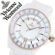 ヴィヴィアン 時計 VivienneWestwood 時計 ヴィヴィアンウエストウッド 腕時計 Vivienne Westwood 腕時計 ヴィヴィアン ウエストウッド 時計 ヴィヴィアンウェストウッド/ビビアン腕時計/ヴィヴィアン腕時計/Vivienne腕時計/ メンズ/レディース/ホワイト VV048RSWH[送料無料]