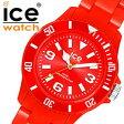 【5年保証対象】アイスウォッチ 時計[ ICEWATCH 腕時計 ]アイス ウォッチ 腕時計[ ice watch ]アイス[ ice 時計 ] アイス時計 アイス ソリッド ICE レディース/レッド SDRDSP [人気/新作/防水/軽量/スポーツウォッチ/スポーツ][10800円以上/送料無料]