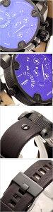 【送料無料】ディーゼル腕時計DIESEL時計DIESEL腕時計ディーゼルデュアルタイムリトルダディーLITTLEDADDYメンズ/ブラックDZ7256