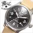 イルビゾンテ腕時計 ILBISONTE時計 IL BISONTE 腕時計 イル ビゾンテ 時計 /メンズ/ブラック H0252-120[送料無料][プレゼント/ギフト/お祝い]
