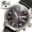 イルビゾンテ腕時計 ILBISONTE時計 IL BISONTE 腕時計 イル ビゾンテ 時計 /メンズ/ブラック H0301-135[送料無料][プレゼント/祝い][父の日ギフト/人気][02P27May16]