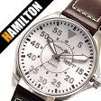 ハミルトン腕時計 HAMILTON時計 HAMILTON 腕時計 ハミルトン 時計 カーキ パイロット ミリタリー KHAKI PILOT /メンズ/ホワイト H64611555 ビジネス 海外モデル 逆輸入 レア 海外 正規品 高級腕時計[送料無料][プレゼント/祝い][父の日/人気][02P27May16]