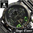 【5年保証対象】エンジェルクローバー 時計[ AngelClover 時計 ]エンジェル クローバー 腕時計[ Angel Clover 腕時計 ]エンジェルクローバー時計[ AngelClover時計 ]ロエン × エンジェルクローバー腕時計 ROEN/AngelClover腕時計 メンズ/ブラック TC44ROGR[送料無料]