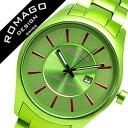 ロマゴ 時計 ROMAGO 時計 ロマゴ 腕時計 ROMAGO 腕時計 ロマゴデザイン ROMAGODESIGN ロマゴ デザイン ROMAGO DESIGN ロマゴ時計 ROMAGO時計 ロマゴ腕時計 ROMAGO腕時計 スーパーレジェーラ メンズ RM029-0290AL-PKGR 送料無料