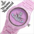 ヴィヴィアン 時計 Viviennewestwood ヴィヴィアンウエストウッド 腕時計 Vivienne Westwood 時計 ヴィヴィアン ウエストウッド 腕時計 ヴィヴィアンウェストウッド ビビアン ヴィヴィアン腕時計 キュー Kew レディース/パープル VV075PPPP[レア 人気 新作][送料無料][lfw]