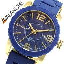 アバランチ腕時計 AVALANCHE時計 AVALANCHE 腕時計 アバランチ 時計 アムール AMOUR メンズ レディース ブルー AV-1024-BUGD おしゃれ かわいい 送料無料 プレゼント ギフト 祝い[ 父の日 父の日ギフト ]