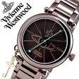 ヴィヴィアン 時計 Viviennewestwood ヴィヴィアンウエストウッド 腕時計 Vivienne Westwood 時計 ヴィヴィアン ウエストウッド 腕時計 ヴィヴィアンウェストウッド ビビアン ヴィヴィアンウエストウッド腕時計 ケンジントン II レディース/ブラウン VV006KBR
