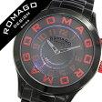 ロマゴ 時計 [ ROMAGO 時計 ] ロマゴ 腕時計 [ ROMAGO 腕時計 ] ロマゴデザイン ROMAGODESIGN [ ロマゴ デザイン ROMAGO DESIGN ] ROMAGODESIGN時計 メンズ/レディース/男女兼用/ブラック RM015-0162SS-BKRD [人気/新作/ブラック][送料無料][10倍]