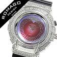 ロマゴ 時計 [ ROMAGO 時計 ] ロマゴ 腕時計 [ ROMAGO 腕時計 ] ロマゴデザイン ROMAGODESIGN [ ロマゴ デザイン ROMAGO DESIGN ] ROMAGODESIGN時計 メンズ/レディース/男女兼用/ホワイト RM025-0269PL-SVBK [人気/新作/ホワイト][送料無料][10倍]