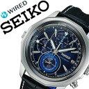 【5年保証対象】セイコー腕時計 SEIKO時計 SEIKO 腕時計 セイコー 時計 ワイアード ザ・ブルー WIRED THE BLUE メンズ/ネイビー AGAW422 [スタンダード 使いやすい お洒落 安心][送料無料][プレゼント/ギフト/祝い][クリスマス プレゼント]