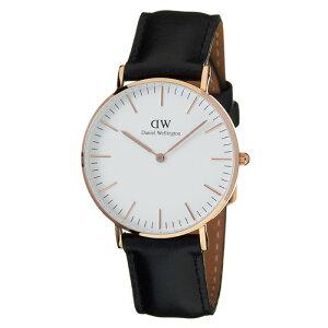 ダニエルウェリントン腕時計DanielWellington時計DanielWellington腕時計ダニエルウェリントン時計クラシックシェフィールドローズCLASSIC36mmメンズ/レディース/ユニセックス/オフホワイト0508DW