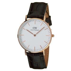 ダニエルウェリントン腕時計DanielWellington時計DanielWellington腕時計ダニエルウェリントン時計クラシックヨークローズCLASSIC36mmメンズ/レディース/ユニセックス/オフホワイト0510DW