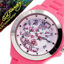 エドハーディー 腕時計 EdHardy 時計 エド ハーディー 時計 Ed Hardy 腕時計 ミスト MIST レディース ホワイト EDHARDY-MT-PK アナログ ブランド ピンク プレゼント ギフト 祝い
