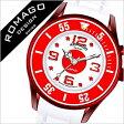 [ポイント10倍]ロマゴ 時計 [ ROMAGO 時計 ] ロマゴ 腕時計 [ ROMAGO 腕時計 ] ロマゴデザイン ROMAGODESIGN [ ロマゴ デザイン ROMAGO DESIGN ] ロマゴデザイン時計 スーパーレジェーラ/日本 JAPAN/メンズ/レディース/レッド/RM043-0412PL-JP [送料無料][02P27May16]