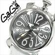 ガガミラノ [ GaGaMILANO ] ガガミラノ 時計 [ GaGaMILANO 時計 ] ガガ ミラノ [ GaGa MILANO ] ガガミラノ腕時計 [ GaGaMILANO腕時計 ] マヌアーレ/ MANUALE 40mm/シルバー/メンズ/レディース/GG-50209 [おしゃれ ブランド manuale レザー 白 イタリア][人気][送料無料]