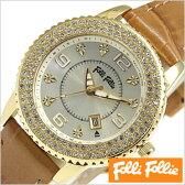 フォリフォリ腕時計[ FolliFollie腕時計 ]フォリフォリ 時計 FolliFollie 時計 フォリフォリ 腕時計 Folli Follie フォリ フォリ 腕時計 フォリフォリ時計 ジルコニア べゼル/レディース/ゴールド WF5G092STICA [ファッション/大人/ピンクゴールド/シンプル][送料無料]