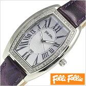 フォリフォリ腕時計[ FolliFollie腕時計 ]フォリフォリ 時計 FolliFollie 時計 フォリフォリ 腕時計 Folli Follie フォリ フォリ 腕時計 フォリフォリ時計 ジルコニア べゼル/レディース/シルバー WF7A021SDSPU [デザインウォッチ/シンプル/] [送料無料]