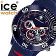 【5年保証対象】アイスウォッチ 時計[ ICEWATCH 腕時計 ]アイス ウォッチ[ ice watch 腕時計 ] BMW モータースポーツ/メンズ/レディース/ネイビー/レッド/ブルー/BMCHDBEBS [スポーツ/Chrono/軽量/Big Blue][100m防水/10気圧防水][送料無料][02P27May16]
