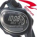 セイコーソーマ腕時計 SEIKOSOMA時計 SEIKO SOMA 腕時計 セイコー ソーマ 時計 ラン ワン Run ONE ブラック DWJ23-0001 [ランニング ト..