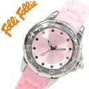 楽天腕時計ギフトのパピヨンフォリフォリ腕時計 FolliFollie時計 FolliFollie 腕時計 フォリフォリ 時計 レディース ピンク WF8A024ZPPI [アナログ ジュエリー ストーン ダイヤ クリスタル ジルコニア シルバー 銀 ギフト バーゲン プレゼント ご褒美][おしゃれ 腕時計]