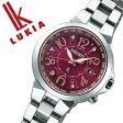 【5年保証対象】( セイコー ルキア腕時計 )[ルキア 時計][LUKIA 時計] セイコー腕時計 [ルキア時計]SEIKO 腕時計 (セイコールキア 時計)ルキア(LUKIA)レディース/人気/ボルドー SSQV003 [アナログ/ソーラー電波時計/ラッキーパスポート/シルバー/赤][送料無料][02P27May16]