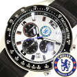 チェルシー腕時計 [CHELSEA時計](CHELSEA 腕時計 チェルシー 時計) メンズ腕時計/ブラック ホワイト/GA3738 [アナログ][送料無料][プレゼント/祝い]