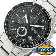 フォッシル 時計 [ FOSSIL 時計 ] フォッシル 腕時計 [ FOSSIL 腕時計] フォッシル時計 [ FOSSIL時計 ] フォッシル腕時計 [ FOSSIL腕時計 ] デッカー DECKER メンズ/レディース/ブラック CH2600[人気/新作/ビジネス/防水/クロノグラフ/カレンダー][送料無料] 02P01Oct16