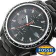 フォッシル 時計 [ FOSSIL 時計 ] フォッシル 腕時計 [ FOSSIL 腕時計] フォッシル時計 [ FOSSIL時計 ] フォッシル腕時計 [ FOSSIL腕時計 ] ディラン DYLAN メンズ/レディース/ブラック CH2754[人気/新作/日付機能/日付表示/メタルベルト 革ベルト 多数取り扱い][送料無料]