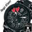 【5年保証対象】エンジェルクローバー 時計[ AngelClover 時計 ]エンジェル クローバー 腕時計[ Angel Clover 腕時計 ]エンジェルクローバー時計[ AngelClover時計 ]ロエン × エンジェルクローバー腕時計 ROEN/コラボ/メンズ/ブラック ES43RONN [オールブラック][送料無料]
