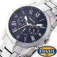 フォッシル 時計 [ FOSSIL 時計 ] フォッシル 腕時計 [ FOSSIL 腕時計] フォッシル時計 [ FOSSIL時計 ] フォッシル腕時計 [ FOSSIL腕時計 ] グラント GRANT メンズ/レディース/ブラック FS4736 [人気/新作/ビジネス/激安/防水/クロノグラフ/カレンダー][送料無料]