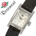 ロゼモン腕時計 Rosemont時計 Rosemont 腕時計 ロゼモン時計 ロゼモン 時計 レディース/ホワイト RS-25-03BR [シルバー ブラウン ...