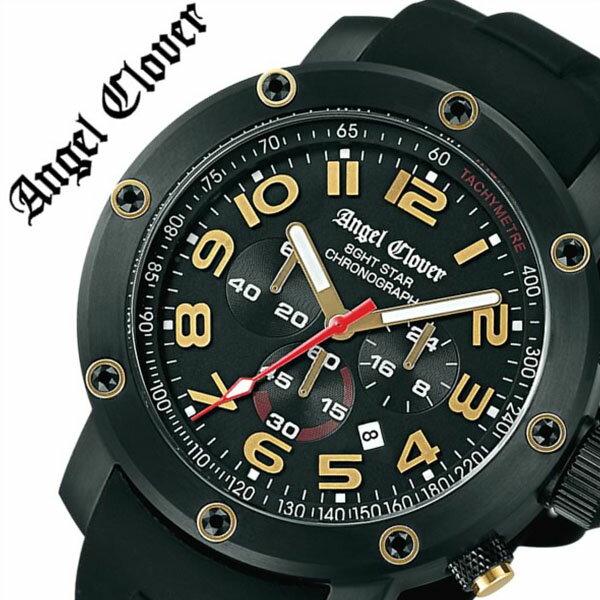 【5年保証対象】エンジェルクローバー 時計[ AngelClover 時計 ]エンジェル クローバー 腕時計[ Angel Clover 腕時計 ]エンジェルクローバー時計[ AngelClover時計 ] AngelClover腕時計 エイトスター 8GHTSTAR メンズ/ブラック NES46BBG-BK [ミリタリーウォッチ][送料無料] エンジェルクローバー 時計[ AngelClover 時計 ]エンジェル クローバー 腕時計[ Angel Clover 腕時計 ]エンジェルクローバー時計/エンジ