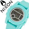 ニクソン 腕時計 [ NIXON 腕時計 ] ニクソン 時計 [ NIXON ] ニクソン腕時計 [ NIXON腕時計 ] ユニット UNIT 40 LIGHT BLUE メンズ/レディース/グレー A490302-00 [デジタル/デジタル表示/デジタル液晶/ライトブルー] [人気/スポーツ/ブランド/サーフィン/防水][送料無料]