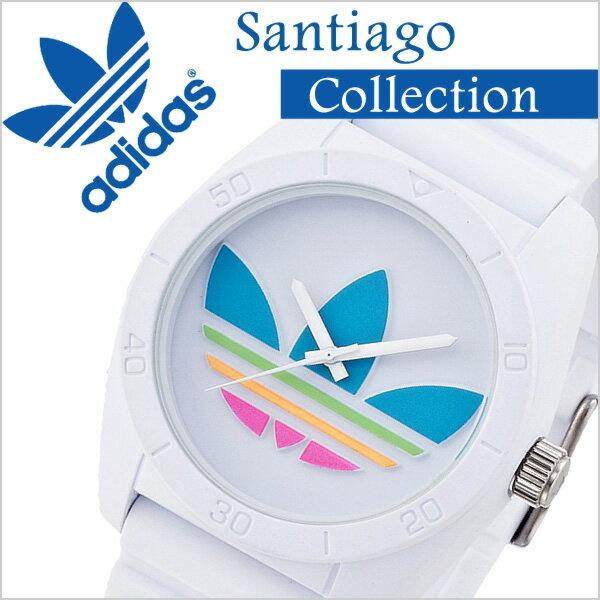 アディダス オリジナルス サンティアゴ ADH2916 ホワイト/マルチ カラー