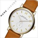 マークバイマークジェイコブス 時計[ MARCBYMARCJACOBS 腕時計 ]マークジェイコブス 腕時計[ MARCJACOBS 時計 ]マーク バイ マーク ジェイコブス[ MARC JACOBS ]ベイカー Baker レディース MBM1316 [ブランド/人気/ホワイト/白 /ゴールド/革ベルト](送料無料)