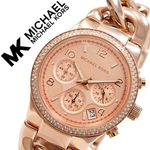 マイケルコース腕時計MichaelKors時計MichaelKors腕時計マイケルコース時計ランウェイRunwayレディース/ピンクMK3247[クロノグラフ/人気/新作/防水/ブレスレット/オールピンクゴールド/ローズゴールド][送料無料]