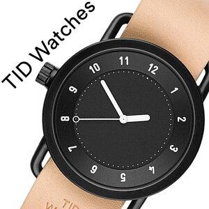 ティッドウォッチ腕時計TIDWatches時計TIDWatches腕時計ティッドウォッチ時計TIDNo.1メンズ/レディース/ブラックTID01-BK-N[新作/ブランド/人気/プレゼント/ギフト/ペア/ペアウォッチ/革ベルト/おしゃれ/防水/替え/北欧/ベージュ/ブラウン/ホワイト][送料無料]