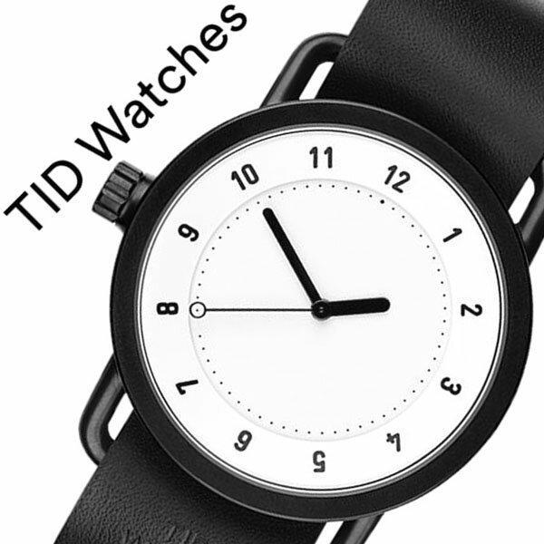 【5年保証対象】[ ティッドウォッチズ ]ティッドウォッチ 腕時計[ TIDWatches 時計 ]ティッド ウォッチ 時計[ TID Watches 腕時計 ] TIDNo. 1 メンズ/レディース TID01-WH-BK [新作/ブランド/人気/革ベルト/おしゃれ/防水/替え/北欧/アナログ/インスタ/通販][送料無料] ( ティッドウォッチズ )ティッドウォッチ 腕時計( TIDWatches 時計 )ティッド ウォッチ 時計( TID Watches 腕時計 ) TIDNo. 1