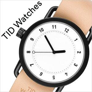 ティッドウォッチ腕時計TIDWatches時計TIDWatches腕時計ティッドウォッチ時計TIDNo.1メンズ/レディース/ホワイトTID01-WH-N[新作/ブランド/人気/プレゼント/ギフト/ペア/ペアウォッチ/革ベルト/おしゃれ/防水/替え/北欧/ベージュ/ブラウン/ブラック][送料無料]