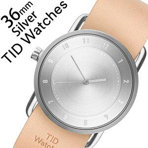 【3年保証対象】ティッドウォッチ腕時計TIDWatches時計TIDWatches腕時計ティッドウォッチ時計TIDNo.2レディース/シルバーTID02-SV36-N[革ベルト/おしゃれ/正規品/替え/北欧/アナログ/ベージュ/ブラウン/シルバー][送料無料]