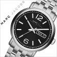 マークバイマークジェイコブス 腕時計[ MARCBYMARCJACOBS 時計 ]マーク バイ マーク ジェイコブス 時計[ MARC BY MARC JACOBS 腕時計 ][ マークジェイコブス ]ファーガス Fergus メンズ/ブラック MBM5075 [人気/ブランド/防水/メタル ベルト/シンプル/シルバー][送料無料]