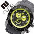 ヌーティッド 腕時計[ NUTID 時計 ]ヌーティッド 時計[ NUTID 腕時計 ]マット ブル MATT BULL メンズ/ブラック N-1403M-B [正規品/デザイナーズウォッチ/ファッション/デザイン/人気/新作/流行/ブランド/防水/シリコン/ラバー/イエロー/プレゼント/ギフト][送料無料]