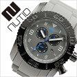 ヌーティッド 腕時計[ NUTID 時計 ]ヌーティッド 時計[ NUTID 腕時計 ]マット ブル MATT BULL メンズ/グレー N-1403M-C [正規品/デザイナーズウォッチ/ファッション/デザイン/人気/新作/流行/ブランド/防水/シリコン/ラバー/ブラック/プレゼント/ギフト][送料無料]
