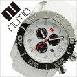 ヌーティッド 腕時計[ NUTID 時計 ]ヌーティッド 時計[ NUTID 腕時計 ]マット ブル MATT BULL メンズ/ホワイト N-1403M-D [正規品/デザイナーズウォッチ/ファッション/デザイン/人気/新作/流行/ブランド/防水/シリコン/ラバー/シルバー/プレゼント/ギフト][送料無料]
