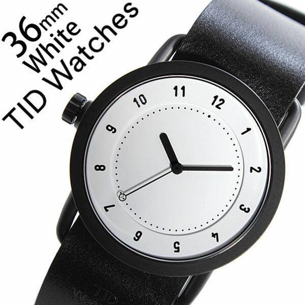 【5年保証対象】[ ティッドウォッチズ ]ティッドウォッチ 腕時計[ TIDWatches 時計 ]ティッド ウォッチ 時計[ TID Watches 腕時計 ] TIDNo. 1 レディース/ホワイト TID01-WH36-BK [革 ベルト/おしゃれ/インスタ/モデル/通販/北欧/ペア/ブラック][送料無料][入学/卒業/祝い] 【5年保証対象】( ティッドウォッチズ )ティッドウォッチ 腕時計( TIDWatches 時計 )ティッド ウォッチ 時計( TID Watches 腕時計 ) TIDNo.