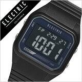 【5年保証対象】エレクトリック 腕時計[ ELECTRIC 時計 ] エレクトリック 時計[ ELECTRIC 腕時計 ] ED01 PU メンズ/レディース/ブラック ED1P2-BK [正規品/人気/新作/ブランド/トレンド/ポリウレタン/サーフ/サーフィン/マリンスポーツ/防水][送料無料][入学/卒業/祝い]