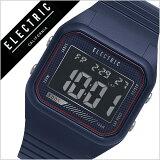 【5年保証対象】エレクトリック 腕時計[ ELECTRIC 時計 ] エレクトリック 時計[ ELECTRIC 腕時計 ] ED01 PU メンズ/レディース/ブラック ED1P2-NV [正規品/人気/新作/ブランド/トレンド/ポリウレタン/ネイビー/ブルー/サーフ/サーフィン/マリンスポーツ/防水][送料無料]